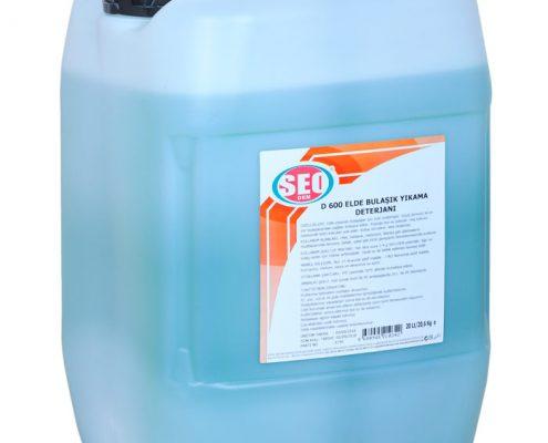 elle-bulasik-yikama-maddesi-d600, elle bulaşık yıkama maddeleri, temizlik malzemeleri kurumsal