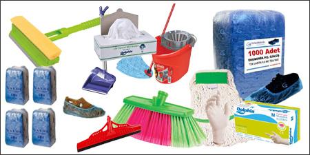 saf grubu ürünleri, saf temizlik maddeleri, galoş, eldiven, maske, fırça, sünger, faraşlı süpürge